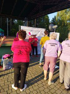 RAJD NORDIC WALKING SENIOR w Zagnańsku, Gminny Ośrodek Pomocy Społecznej w Łopusznie